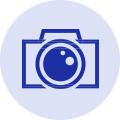 ドローン撮影、タイムラプス等の特殊なカメラで撮影できます